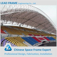 Philippine Sports Stadium Long Span Steel Structure Steel Roof Trusses For Sale