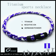 different rope necklace style football /basketball