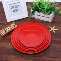 Two Color melamine plate / melamine flat plate
