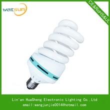 85W full spiral cfl bulb energy saving lamps repairing