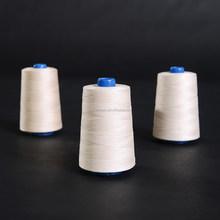 spun 100% polyester sewing thread 20/4