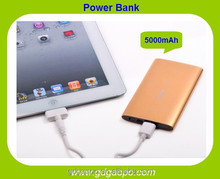 wholesale new product solar power bank 5000mAh portable mobile power bank /cell phone Charger