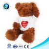 Lovely low MOQ cute custom plush toys novelty stuffed soft plush teddy bear