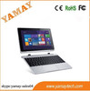 window 10 tablet reviews 10.1inch IPS 1280*800 intel Z3735F quad core win8.1 os tablet pc detachable keyboard 2 in 1 pc