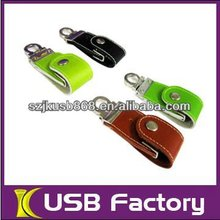 2012 newest leather usb best selling usb flash memory
