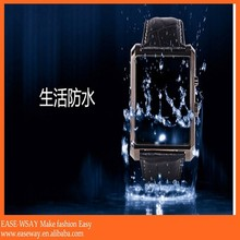 WP001 IOS and android smart watch phone, bluetooth fashion watch mobile phone