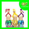 hanging car air freshener made in china/customized essential oil perfume