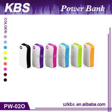 Best Selling Portable Mobile Power Bank ,LED Light Mini USB Power Bank 5200Mah