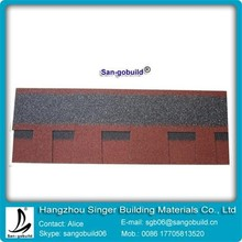2015 Hot Sale China Red Asphalt Roofing Shingle With High Quality