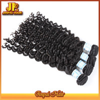 Wholesale Human No Shed Virgin Indian Natural Sex Hair Jp Hair Deep Wave