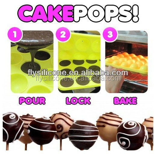 20 Cavities Silicone Cake Chocolate Craft Candy Baking Molds