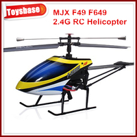 F49,F649 Mjx 4CH 2.4G Single Screw RC helicopter RTF F649 brushless tail motor main motor mjx f45 rc helicopter update