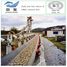 endless conveyor belt with 24mpa rubber cover mining conveyor belt