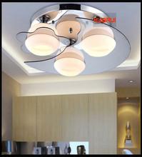 Stars style ceiling light Diameter 50cm dining light 220V led bulb E27 milk white