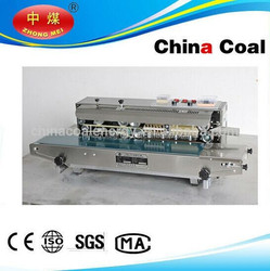 Stainless steel continuous verticle/Horizontal band sealer for sealing plastic bags