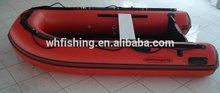 2015 ce y certificación de pvc ligero casco baratos para los barcos de pesca a los pescadores