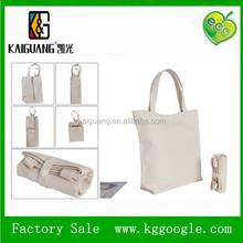 Foldable Eco cotton shopping Bag in Assorted Prints kids ECO folded like a rectangular wallet (via zipper)