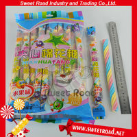 15g Jelly Filled Colorful Twist Long Marshmallow(Corn, Fruit)