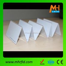 2015 Blank employee ID 125khz RFID EM4100 proximity card from Meihe