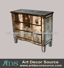 mirror finished hotel furniture