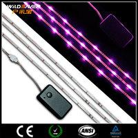 3-6V mini single led flexible lights strip battery powered