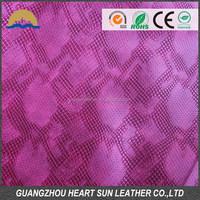 2014 Hot Selling New Design B Grade PVC Leather