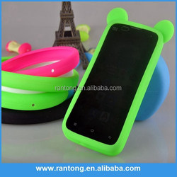 New design lovery universal bumper silicone case for mobile phone