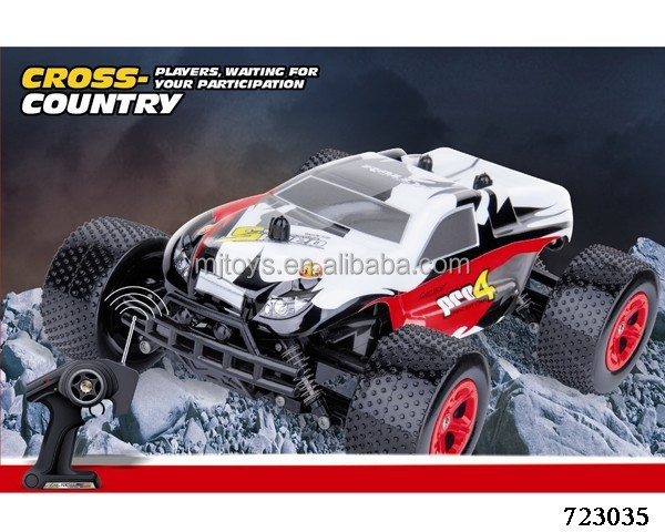 Cross Country Truck Toys Rc Transmitter 2.4g 4wd 5ch Mini ...