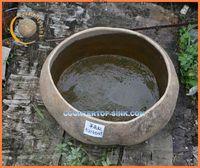 Outdoor Garden Use Round Stone Water Fish Bowl Supplier