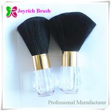 Transparent Acrylic Handle Black Hair Brush Manufacturer Dust Nail Brush