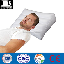 PROMOTIONAL custom flocking pvc or PVC inflatable bed wedge portable body wedge