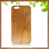 factory wholesale for iphone 6 plus pc wood case, cherry wood pc hard cover for iphone6