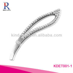 Wholesale Custom Logo Crystal Magnifying Tweezers For Promotional Gift