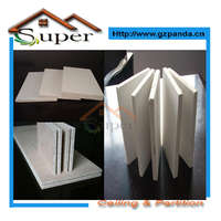 Durable White Magnesium Oxide Wall Board Sanded MGO Board