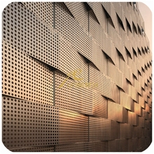 New style buliding material decorative Perforated metal mesh