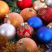 High quality small Holidays popular styrofoam balls decorated for christmas