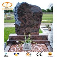 Granite carving tree monument headstone