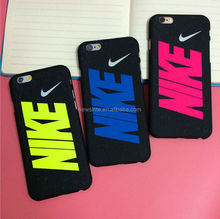fashion and popular NIKE mobile phone case hard cover for iphone5/6/6plus