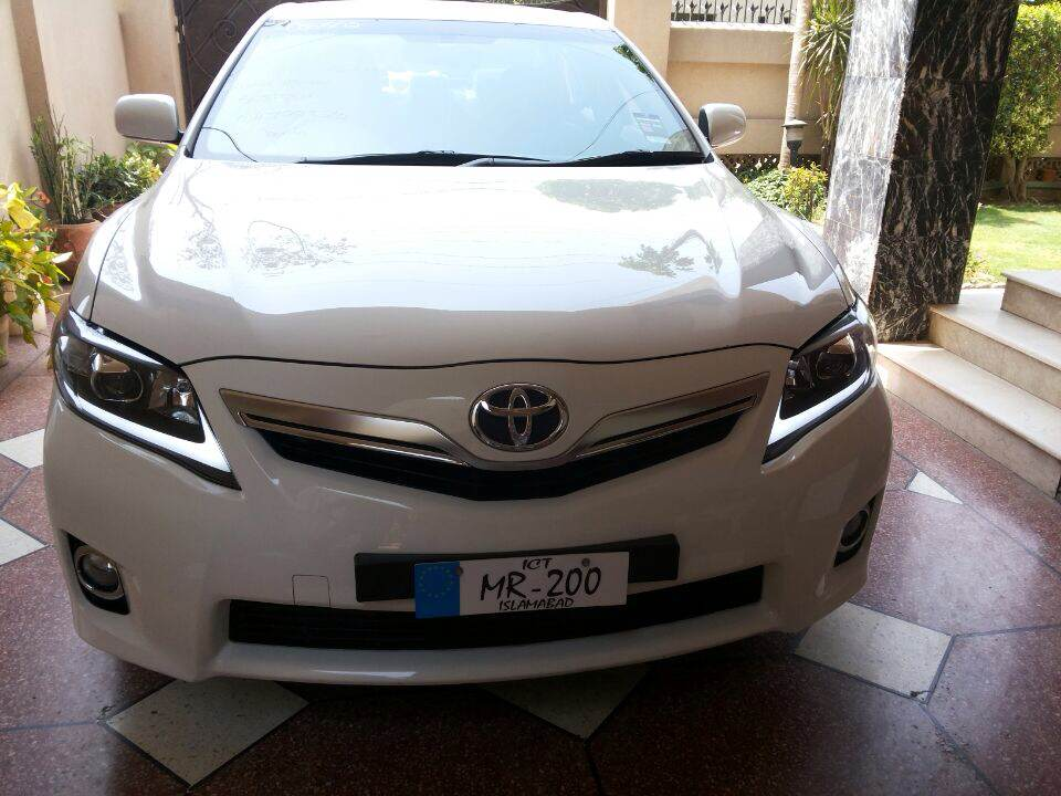 auto accessories for toyota camry 2007 2011 angel eye led head light lamp modified head light. Black Bedroom Furniture Sets. Home Design Ideas