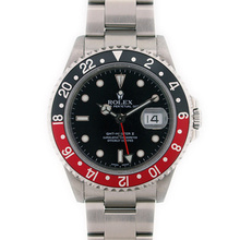 Brand New Rolex GMT Master II Men's Stainless Steel Watch