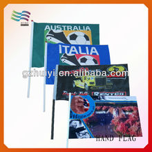 Custom Mini International Stick Hand Flags