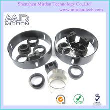 OEM custom anodized aluminum/steel/ABS plastic/PMMA cnc machining service precision cnc turning metal lathe parts