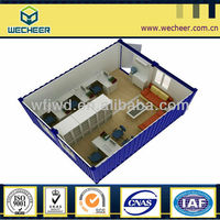 2014 New Standard 20ft & 40ft Low Lost Container Dormitory / toilet / office / living home
