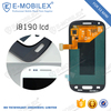 [E-MobileX LCD] buy wholesale from china touch screen with digitizer assembly for Galaxy S3 mini i8190 lcd screen assembly with