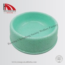 pet bowl for dog in green 26*26*7cm