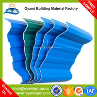 Soundproof composite colored roofing tile for construction