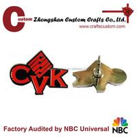 China Wholesale expert factory custom enamel brand name lapel pin