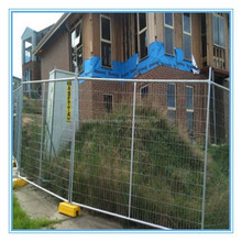 2015 Hot sale PVC coated galvanized temporary fence price/metal temporary fence panels alibaba china supplier