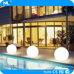 China whosesale home garden swimming pool flashing led ball / led ball light outdoor