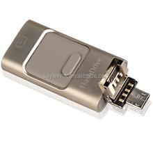 MicroUSB OTG 2.0 usb flash drive Smart mobile Phone U Disk Dual double plug Interface usb disk